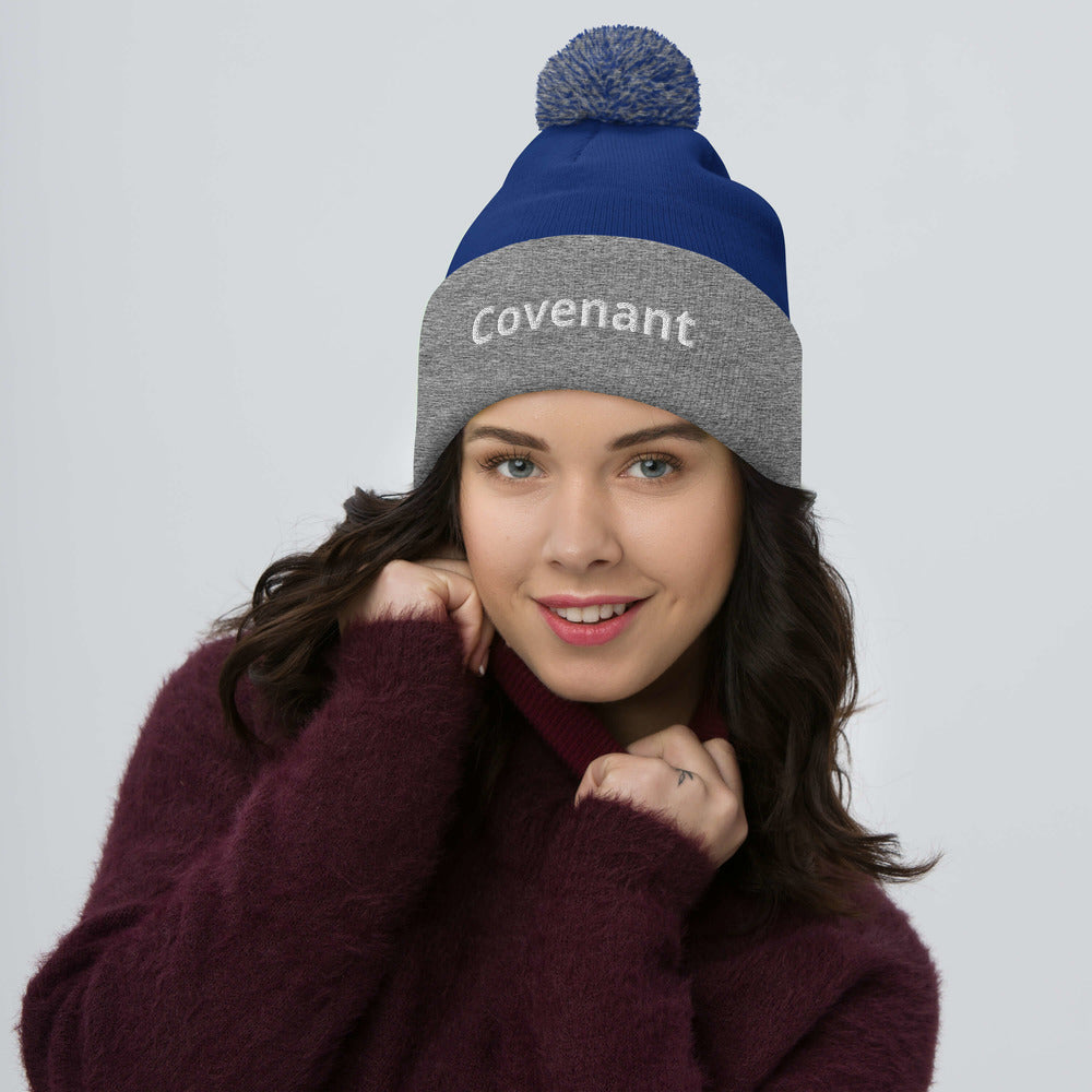 Pom-Pom Beanie - Rainbow - Covenant