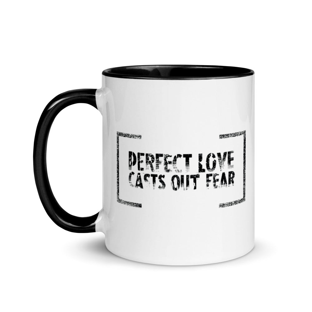 Mug with Color Inside - perfect love