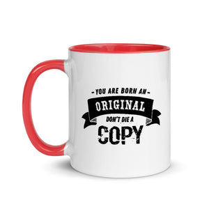 Mug with Color Inside - Born an original