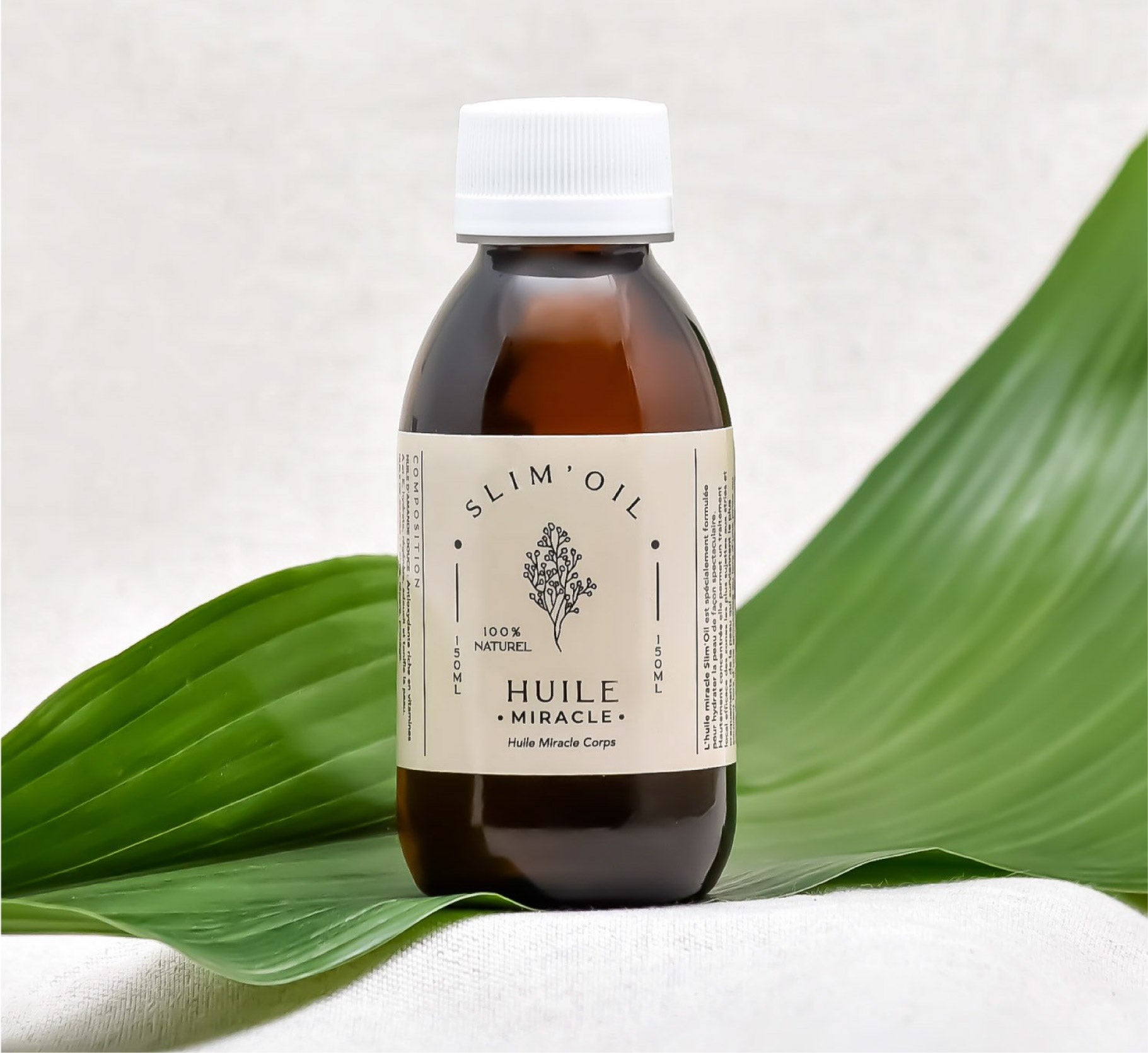 Huile Miracle anti-cellulite