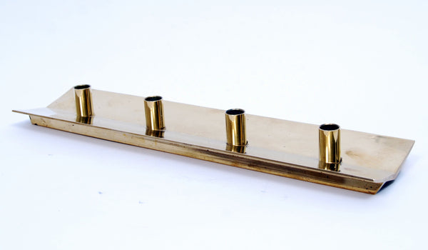 Brass Candlestick Holder No. 69 by Pierre Forssell for Skultuna, 1950s