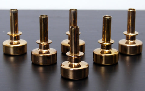 1960s Candlesticks by Hans Agne Jakobsson Set of Six