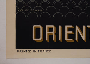 Original Air France Poster For The Orient Extreme-Orient 1947