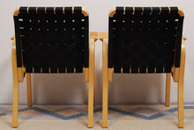 Load image into Gallery viewer, Model 45 Armchairs by Alvar Aalto for Artek, Set of 2