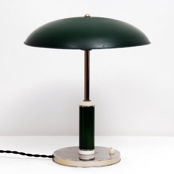 Vintage Art Deco Swedish Grace Desk Lamp, 1930s