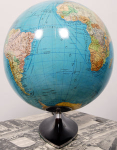 Art Deco Style Globe by Columbus, 1950s