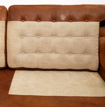 Load image into Gallery viewer, Sofa Merkur by Arne Norell in Buffalo Leather, 1960s