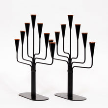 Load image into Gallery viewer, Gunnar Ander Candelabras for Ystad Metall, Set of 2, 1970s
