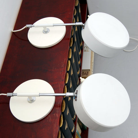 Rare Pair of Atelje Lyktan Bookcase Lights, 1960s