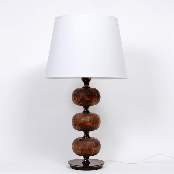 Wenge Wood Table Lamp by Henrik Blomqvist for Stilarmatur