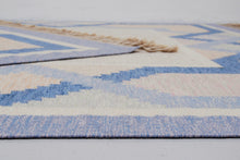 "Load image into Gallery viewer, Swedish Flat-Weave Kilim Rölakan Carpet ""Tinto"" by Anna Johanna Ångström"
