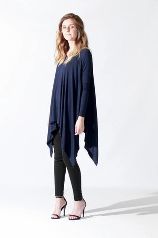 Jagged Edge Navy Tunic