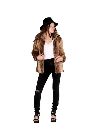Faux Fur Jacket (more colors)