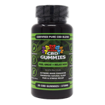 HEMP BOMB CBD GUMMIES 375MG 25CT BOTTLE