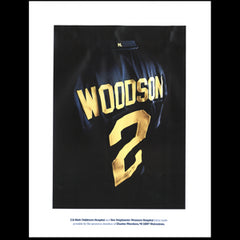 3D Charles Woodson Poster