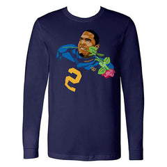Woodson Rose Long Sleeve - Navy