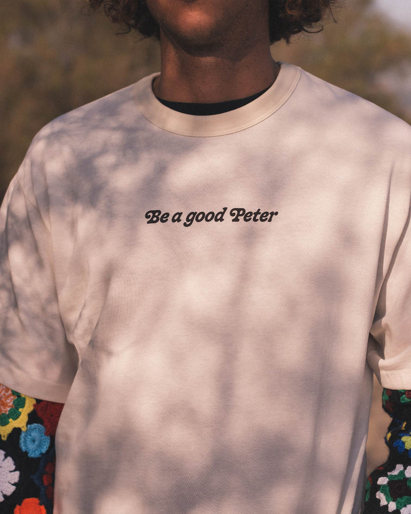 Be a good Peter T-shirt - Natural