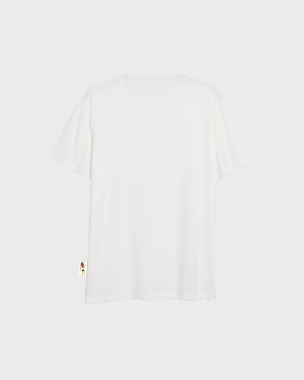 Facial Expression T-Shirt - White