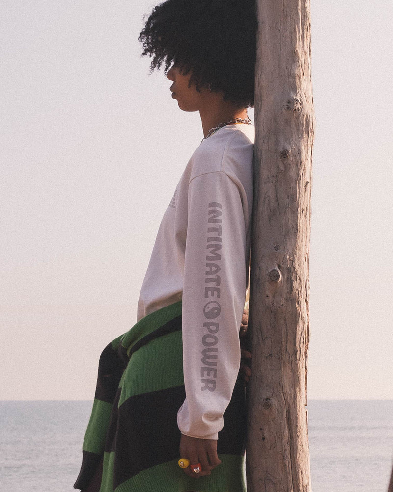 Intimate Power Long Sleeve Tee - Natural