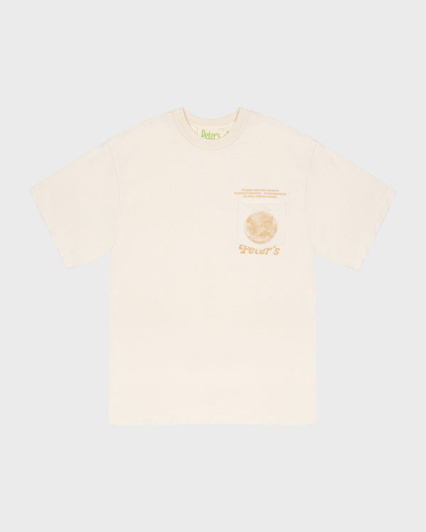 Peter's Meditation Club T-Shirt - Natural