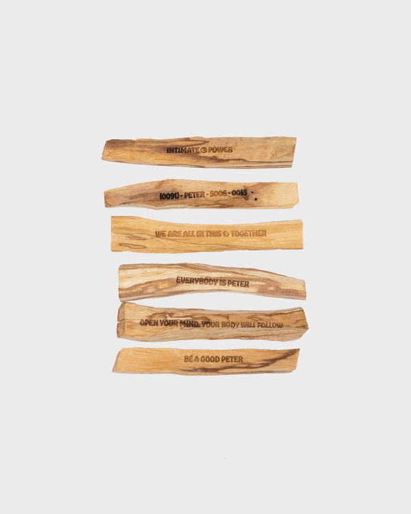 Peter's Palo Santo Sticks - 6pcs