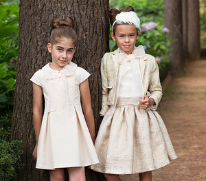 fancy kids clothes for girls wearing elegant outfits