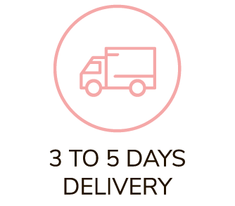 3 to 5 days delivery