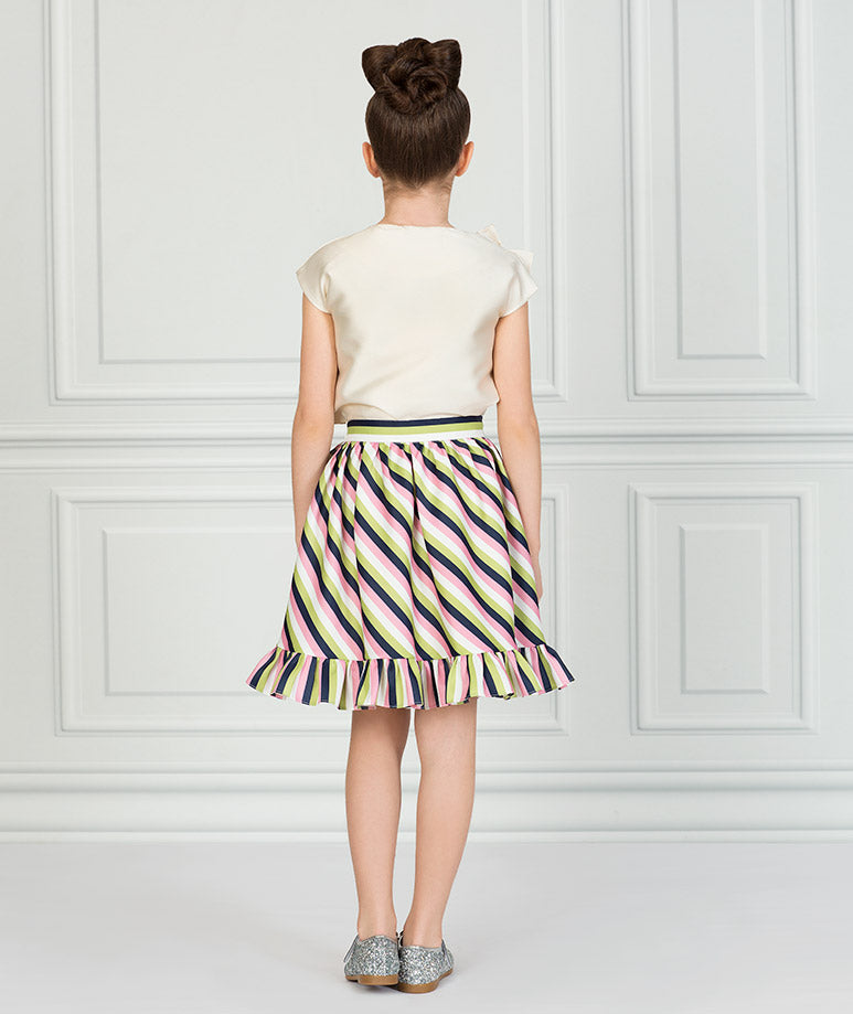 Product Image of Striped Ecru Karen Outfit I 2 Pieces #3
