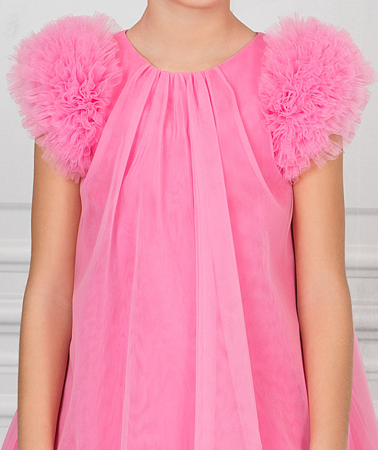 Product Image of Neon Pink Elsie Dress #2