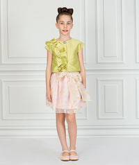 Princess Hailey Ruffle Outfit I 2 Pieces