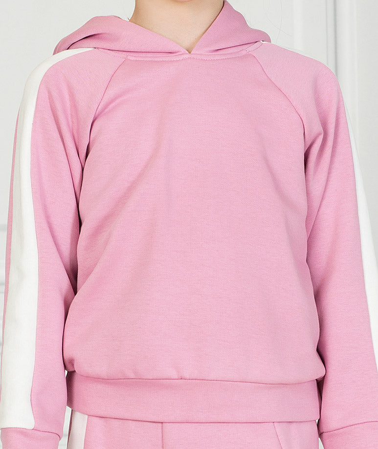 Product Image of Pink Stripe Tennis Outfit |2 pieces #3