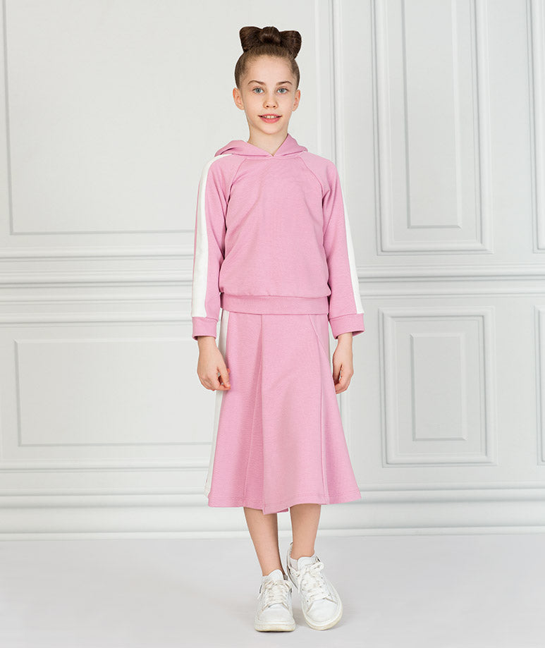 Product Image of Pink Stripe Tennis Outfit |2 pieces #2