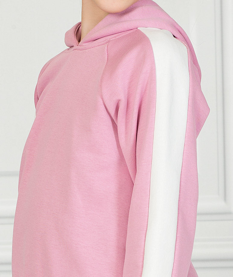Product Image of Pink Stripe Tennis Outfit |2 pieces #5