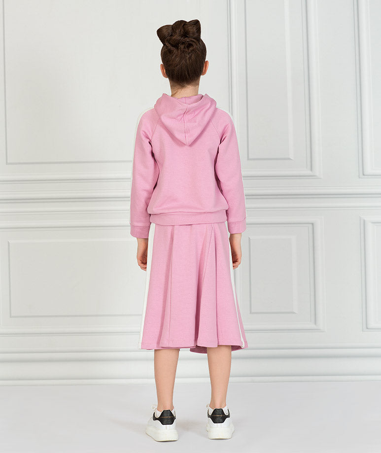 Product Image of Pink Stripe Tennis Outfit |2 pieces #6