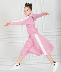 Pink Stripe Tennis Outfit |2 pieces