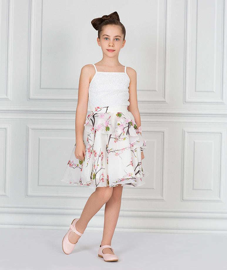 Product Image of Ava Organza Bloom Outfit I 2 Piece #1