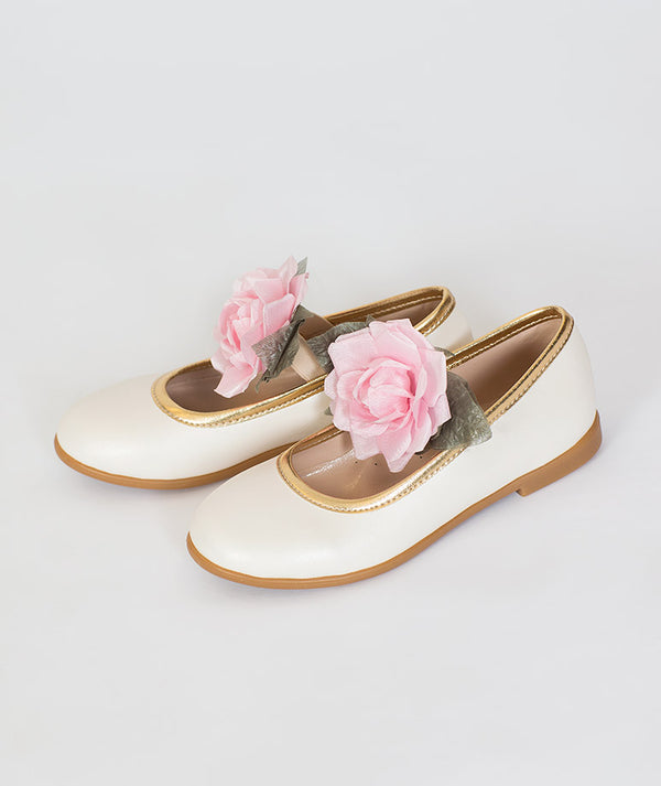 Classic Rose Comfortable Kids Shoes