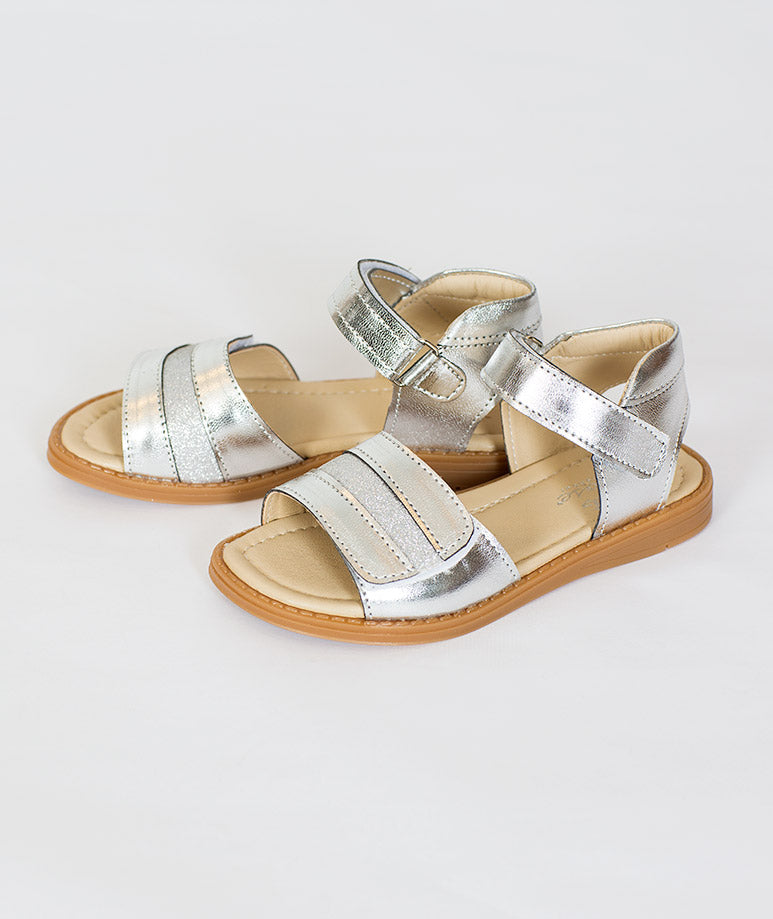 Product Image of Comfortable Kids Sandals |Silver #1