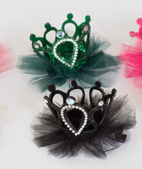 Crown Hair Clips Set | 6-Color Pack
