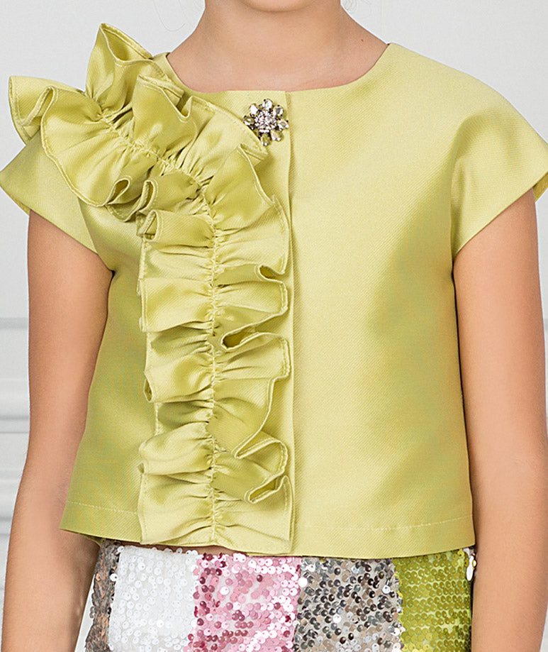 Product Image of Sparkling River Ruffle Outfit I 2 Pieces #2