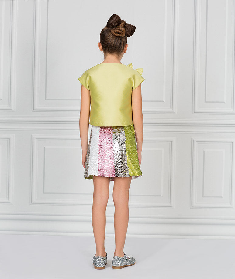 Product Image of Sparkling River Ruffle Outfit I 2 Pieces #3