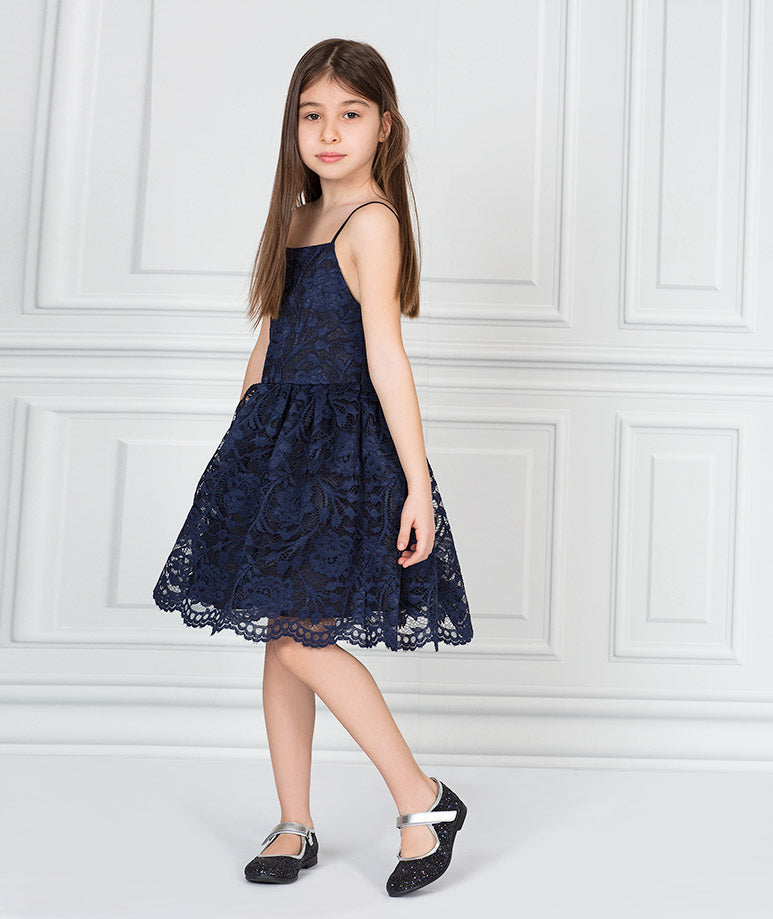 Product Image of Mira Lace Tea-Party Dress #1