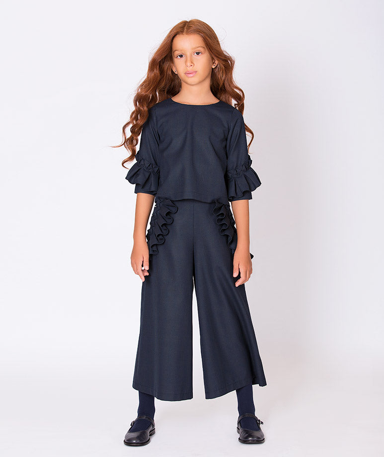 Product Image of Emily Ruffle Outfit | 2 Pieces #1