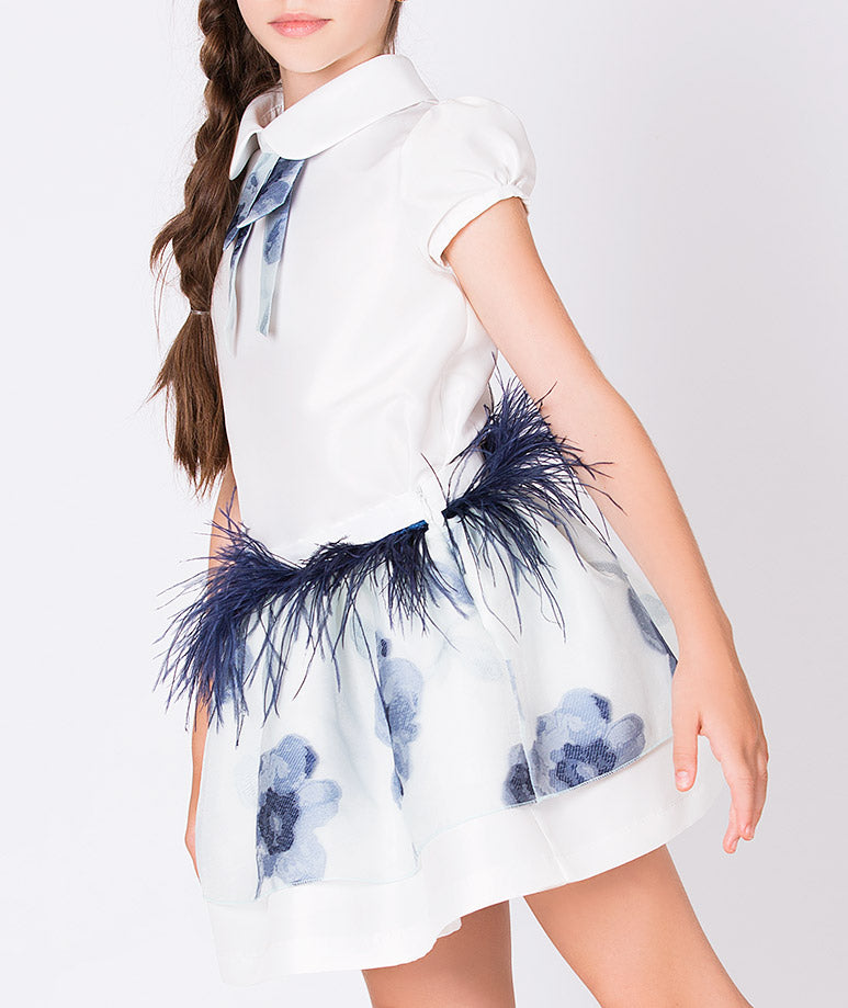 Product Image of Crystal Feathers Outfit | 2 Pieces #3