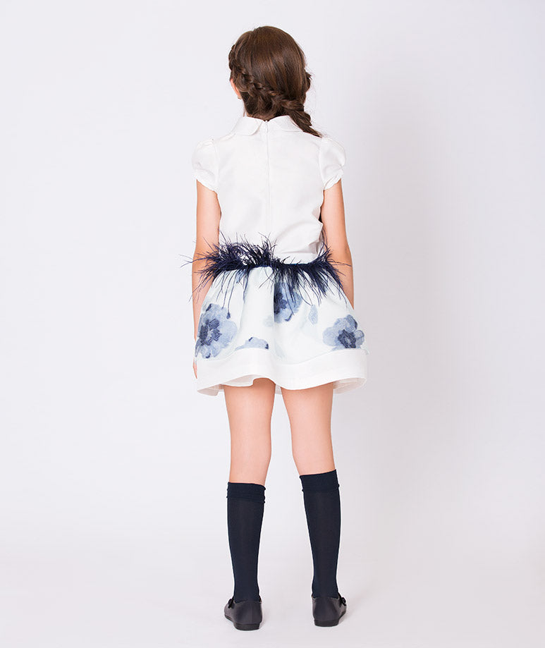 Product Image of Crystal Feathers Outfit | 2 Pieces #4