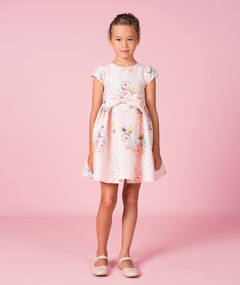 Elegant Floral Alessa Dress