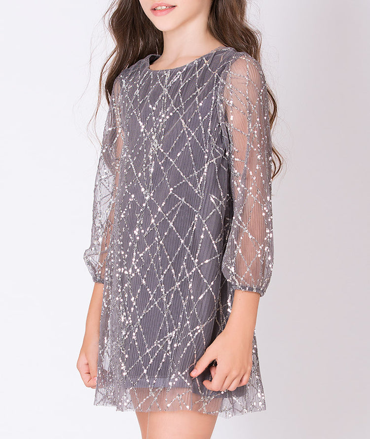 Product Image of Sequined Tanya Dress #3