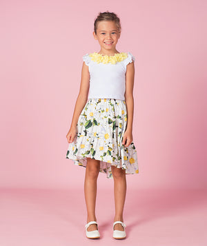 Summer outfit for girls by Mama Luma
