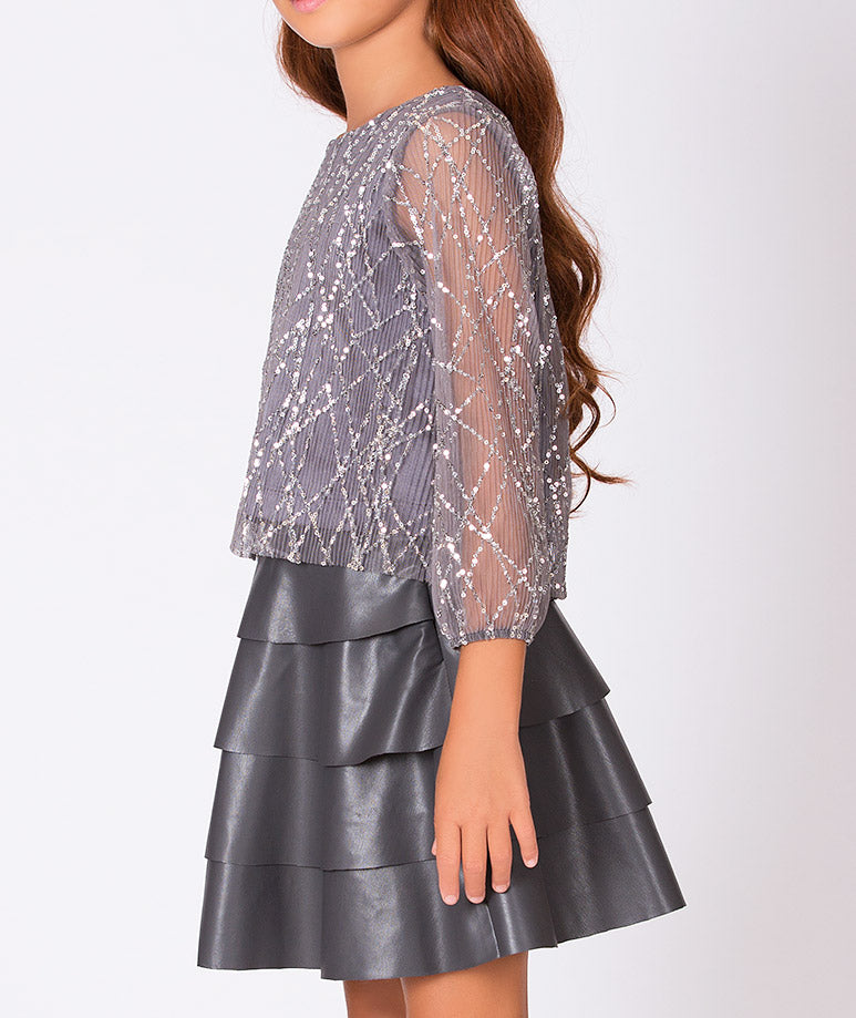 Product Image of Sequined Kara Outfit   2 Pieces #3