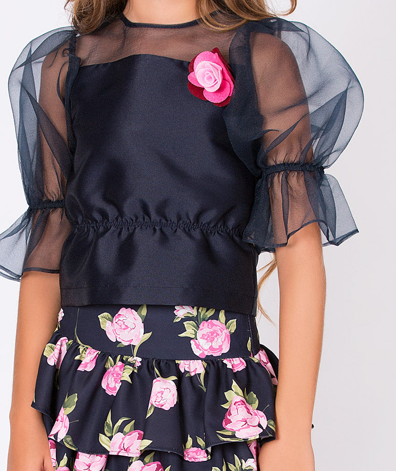 Product Image of Rose Prints Lola Outfit | 2 Pieces #4